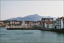Le port et la Rhune
